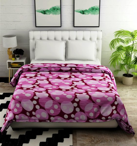 100% Cotton 144 TC Double Comforter