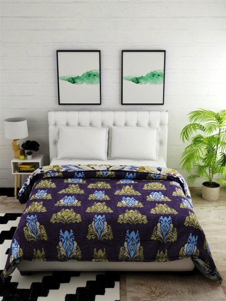 100%  Cotton 144 TC Double Bed Comforter