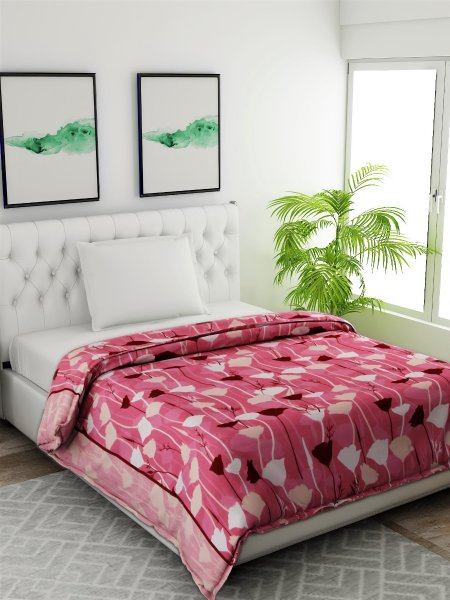 100%  Cotton 144 TC Single Comforter