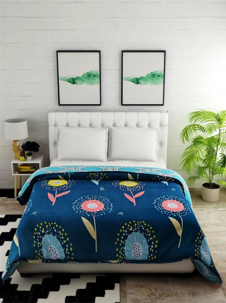 Polyester 144 TC Printed Double Comforter