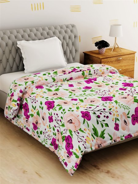 Polyester  144 TC Single Bed Comforter