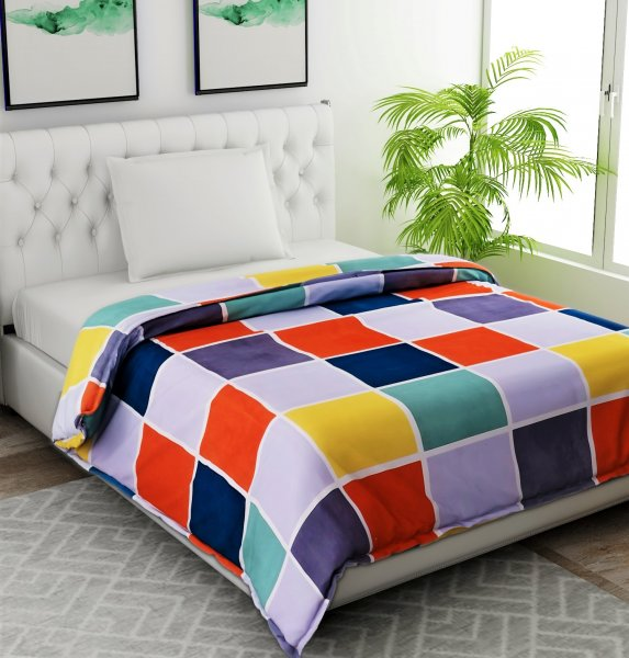 Polyester Quilted Single Comforter