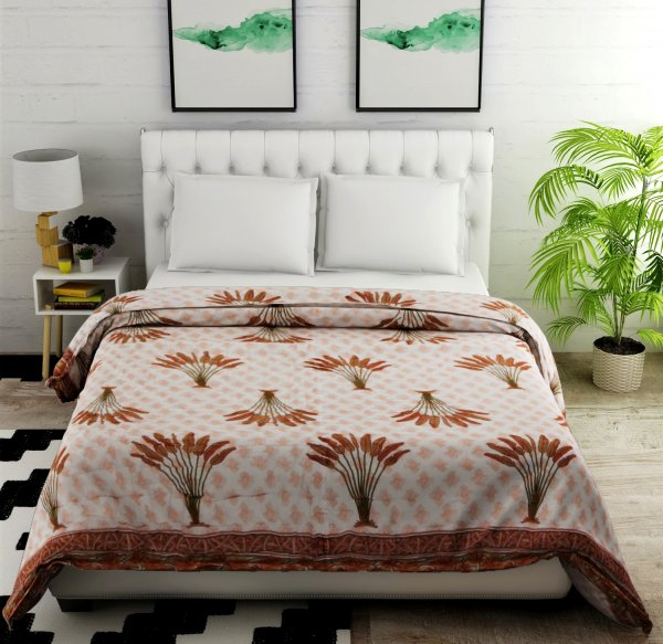 Jaipuri 100% Cotton Double Bed AC Comforter