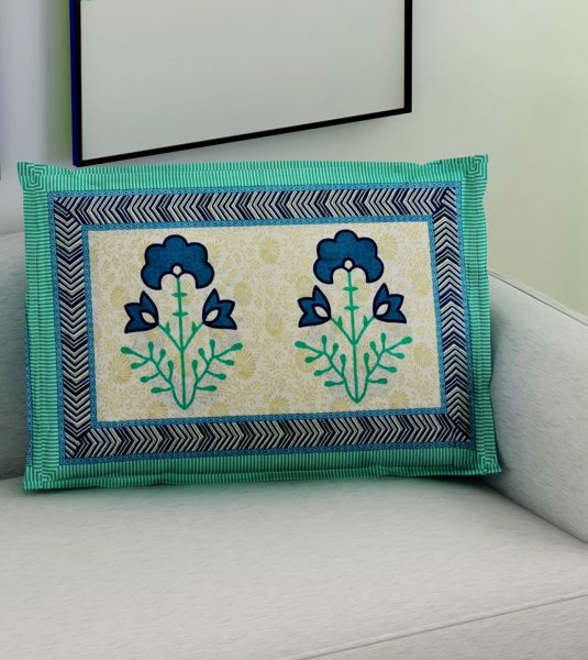 JAIPURI PILLOW COVERS SET OF 2