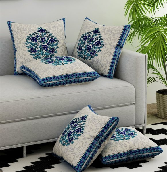 JAIPURI CUSHION COVER SET OF 5.