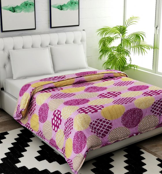 Polyester Single Bed AC Comforter.